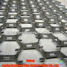 Acero de carbono de plata 0Cr18 Tortoise Shell Mesh (Fábrica)