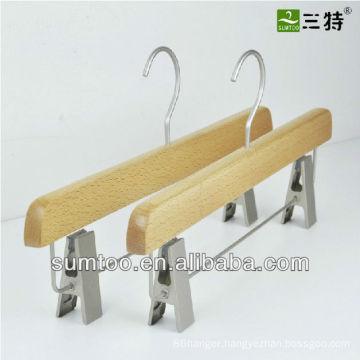 promotion pant skirt beech wooden hangers