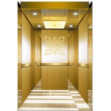 Passenger Elevator Lift High Quality Mirror Etched Aksen Ty-K152