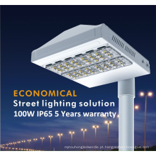 Luz de rua exterior do diodo emissor de luz IP65 com 5 anos de garantia (QH-LD2C-100W)