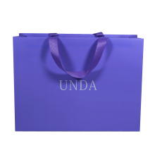 Customized Recycled Promotion Gift Carried Packaging Paper Shopping Bag