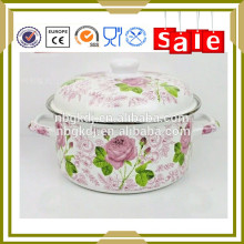 Enamelware cookware for soup pot happy baron made in china