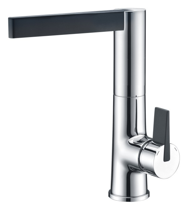 Luxurious Brass Kitchen Faucet For Sink With Single Lever