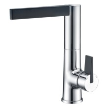 Luxurious Brass Kitchen Faucet Sink With Single Lever