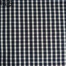 Tissu tissé de fil de popeline de coton teint pour des chemises / robe Rls50-32po