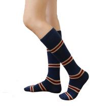 Women′s Cotton Crew Knee-High Stocking Socks (WA056)