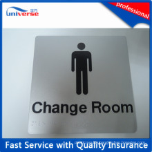 Best Selling Fine Silver Plastic Braille Signages