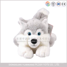 Cute Plush Stuffed Animal Toy Husky Dog Siberian Husky Puppy