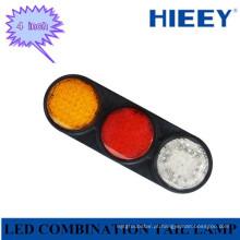 LED stop / tail / indicador / reverso lâmpada combinada para caminhão e enormes trailers