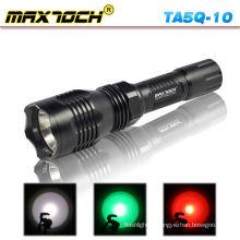 Maxtoch TA5Q-10 multi-fonction Police lampe de poche Led