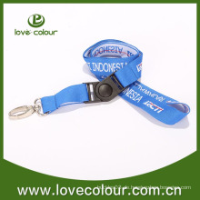 Custom Woven Strap Kein Mindestbestell- / Polyester-Lanyard