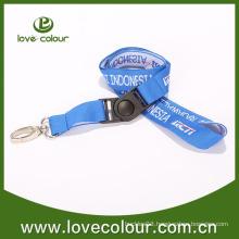 Custom Woven Strap No Minimum Order/Polyester Lanyard