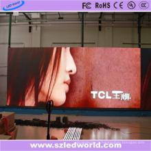 Panneau d'affichage polychrome d'intérieur de location de P4.81 LED pour la publicité