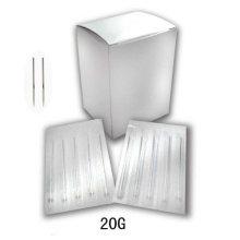 Alta calidad de acero inoxidable esterilizado agujas de perforación del cuerpo