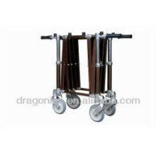 DW-TR006 Chariot en aluminium de chariot de cercueil d'église