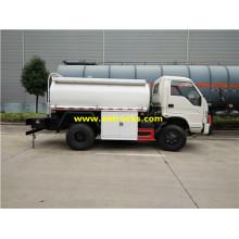 Dongfeng 4x2 5 CBM Camiones Tanque de Aceite