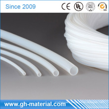 Extrusion White Flexible Plastic Teflon PTFE Tubing Hose for Insulate