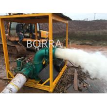 Dewatering Trash Sewage Centrifugal Water Diesel Pump