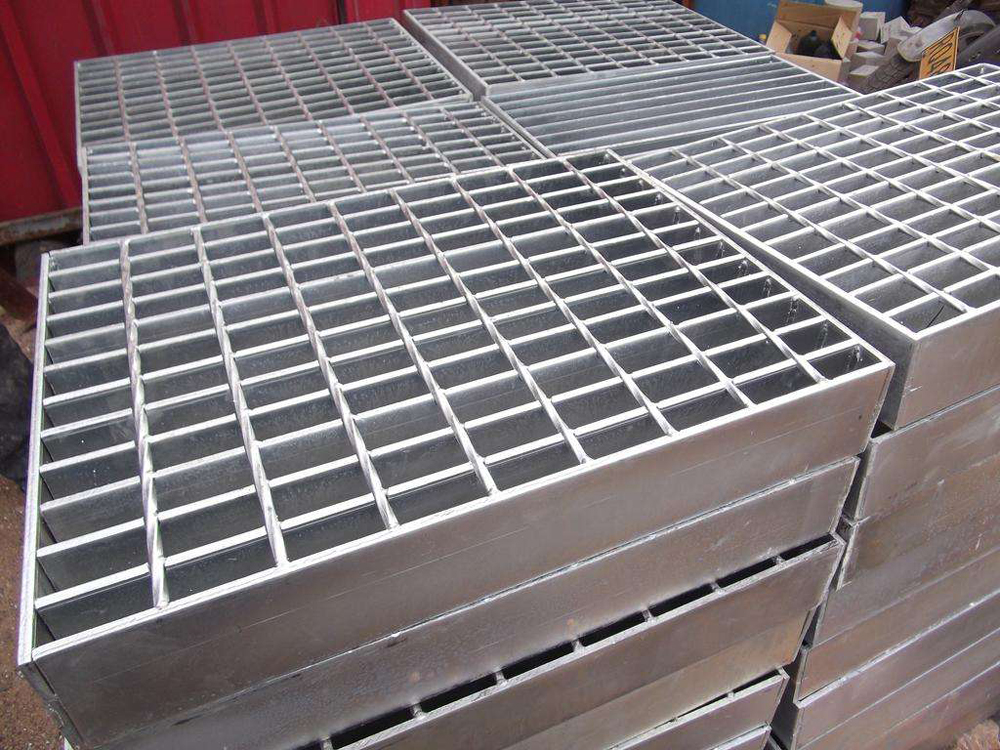 Forge-Welded Steel Grid