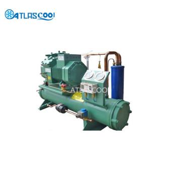Water Cooled Walk in Cooler Compressor Condensing Unit