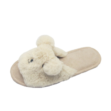 Cheap cute animal winter warm bedroom indoor slipper