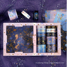 10*10 Diary Tape and Stickers Set Gift Box
