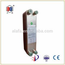 SWEP soldar aluminio aleta de placa intercambiador de calor ZL095Q