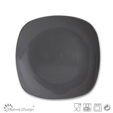 Hot Sale 2016 Square Shape Stoneware Salad Plate