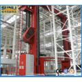 Automatisches Palettenregalsystem für Lagerung und Abfrage