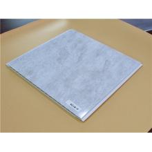 Светлый цвет вес пластиковых падение потолочной плитки