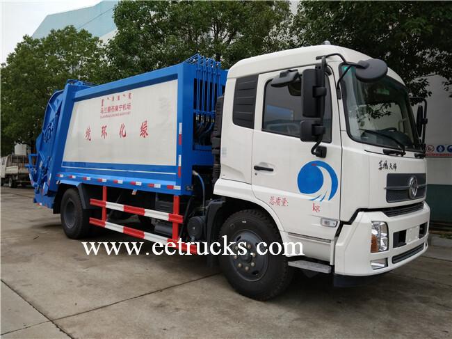 5 CBM Garbage Compactor Trucks