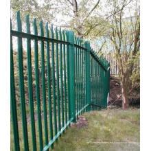 Clôtures en pente à palissade en PVC, clôtures en plâtre en plastique + clôtures