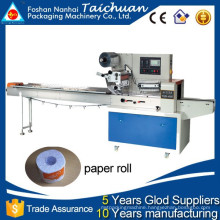 Flow Horizontal Toilet Paper Roll Packaging Machine