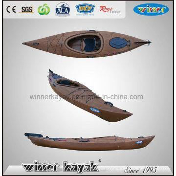 Wooden-Like Sit in Plastic Kayak