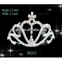 Sample available factory directly princess crown