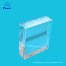 Prisme en verre optique taille 2mm à 300mm à vendre