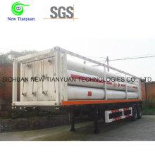 10-Tube Bundle Container Semi-remorque