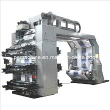 Máquina de impresión Flexo de alta velocidad de 6 colores