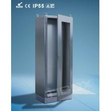Cabinet de porte en plexiglas en acier inoxydable