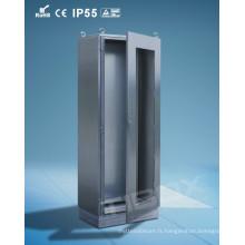 Conception moderne étanche en acier inoxydable avec armoire de porte glacée