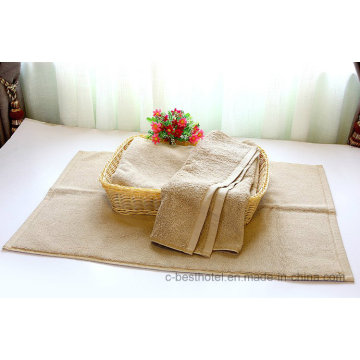 Супер мягкое и роскошное хлопковое жаккардовое полотенце для гостиницы Terry