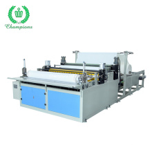 Maxi Roll Tissue Paper Production Line Industrial Roll Maxi Roll Making Machine