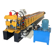 Fully automatic tile fix ridge cap roll forming making machine