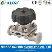 sanitary food grade pneumatic stainless steel diaphragm valves KLGMF-32M