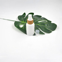 100% Biodegradable 50ml disposable compostable Pla plastic bottle costometic bottle