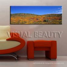 Moderne panoramische Landschaft Leinwanddruck für Wohnzimmer