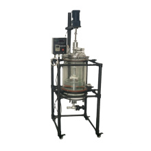 10L High Quality Frame with Spray Solid-liquid filter extraction jacked glass reactor