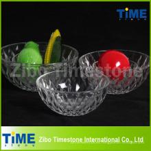 Ensaladera de vidrio que sirve juegos de tazones