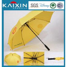 Parapluie droit autocollant de 25 pouces avec poignée EVA