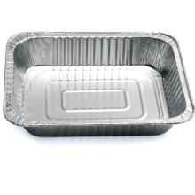 Large barbecue tray, environmentally friendly aluminum foil lunch box, lobster takeout box